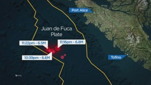 String of earthquakes off Vancouver Island raises concerns