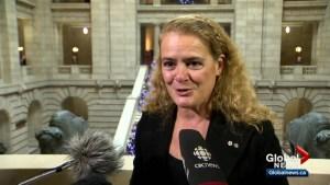 Canada's Governor General visits Winnipeg