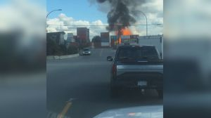 Propane tank facility fire and explosions forces closure of Highway 17 in Surrey