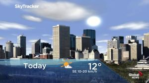 Edmonton early morning weather forecast: Thursday, March 21, 2019