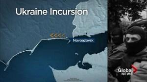 Ukraine crisis: President says Russian 'invasion' underway