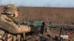 Ukrainian military hold artillery drills near Azov Sea