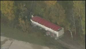 RAW: Scene of fatal crash between truck and semi on Garven Road