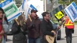 Durham College educators hit the picket lines