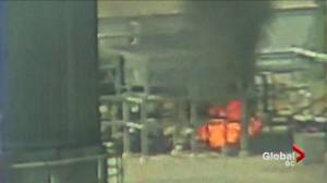 Explosion and fire at Delta LNG facility