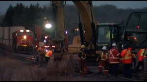 VIA Rail back in operation after CN crews worked overnight to restore tracks after train derailment