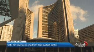 Toronto tax increases pitched ahead of 2019 budget day