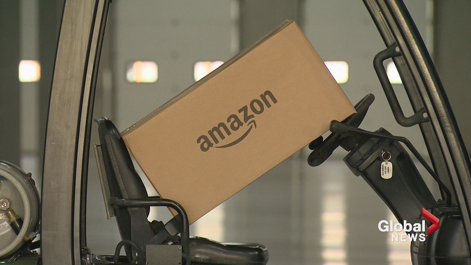 Amazon to build new fulfillment centre outside Calgary, will create 750 jobs