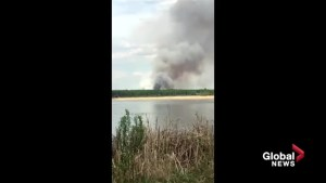 Wildfire on Alexis First Nation forces people from their homes