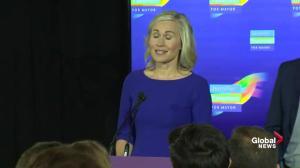 Ontario Municipal Election: Jennifer Keesmaat congratulates John Tory for re-election as mayor
