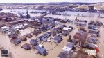 Heavy rains and rising water levels leave Quebec's Sainte-Marie flooded