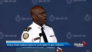 Toronto police chief unveiled $4.5M plan to curb gun violence