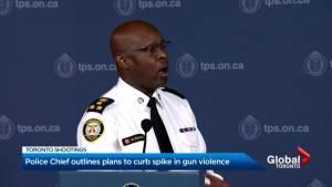 Toronto police chief unveiled $4.5M plan to curb gun violence