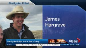 Firefighter James Hargrave killed in the line of duty