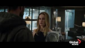 Captain Marvel joins the Avengers in new 'Avengers: Endgame' trailer