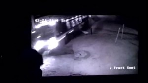Raw video shows moment TTC bus crashes into homes