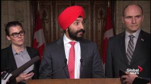 Bains: Federal government still not sure on next steps following Oshawa GM plant closure
