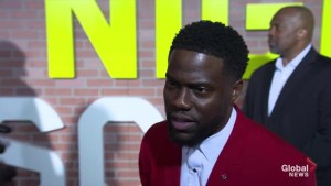 Kevin Hart says he's been asked to host the Oscars