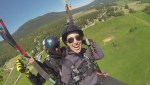 Paragliding over Lumby with the Freedom Flight Park