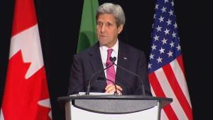 John Kerry extends his condolences to La Loche