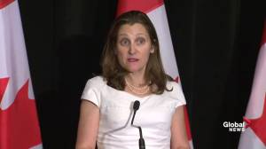 Chrystia Freeland says there is 'international convergence' on peaceful transition of power in Venezuela