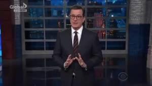 Stephen Colbert calls Donald Trump a 'racist Rumpelstiltskin'