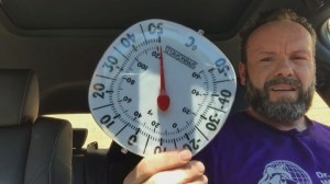 Ontario vet sits in hot car to demonstrate effect it has on pets