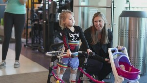 Okanagan couple says intense therapy and spinal cord injury clinic in the United States is helping their daughter learn to walk again