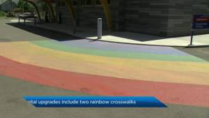 New Merritt ER features 'rainbow crosswalks'