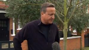 David Cameron doesn't regret calling Brexit referendum