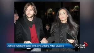 Ashton Kutcher reveals how he handled divorce from Demi Moore