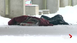 Winter emergency shelter opens in Montreal