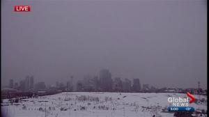 Calgary braces for snowstorm
