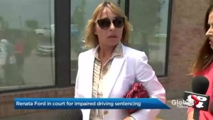 Renata Ford receives suspended sentence for impaired driving conviction