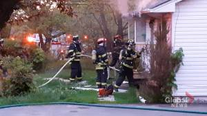Fredericton police investigating fire, sudden death