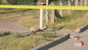 Car vs Cyclist sends one man to hospital. Calgary Police are investigating