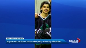 Vaughan teen identified as victim of prom after-party shooting