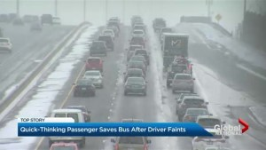 Ontario woman praised for stopping a runaway bus on highway 401