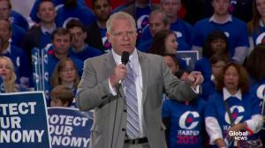 Doug Ford: Trudeau won't say how much carbon tax is