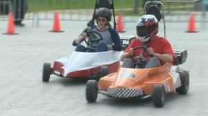 Mini Indy takes over City Square Plaza