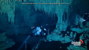 World's longest underwater cave found in Mexico