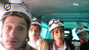 "Syrian ""White Helmets"" evacuated to Jordan (00:57)"