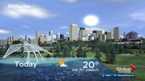 Edmonton early morning weather forecast: Friday, May 18, 2018