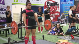 Lethbridge powerlifting mom breaks 3 national records
