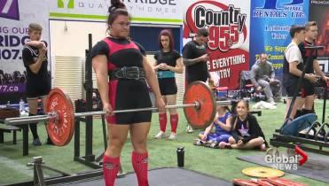 Lethbridge powerlifting mom breaks 3 national records