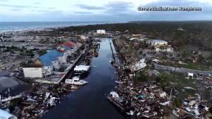 Hurricane Michael: Drone video captures destruction in Florida's Mexico Beach