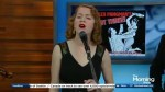 Juno nominee Alex Pangman performs 'It's The Talk of the Town' on The Morning Show
