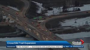 Crowchild Trail construction enters new phase