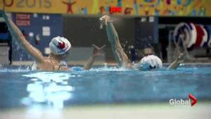 Synchronized swim duet competing to put Canada back on the podium