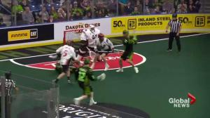 Saskatchewan Rush beat Vancouver Stealth 16-10
